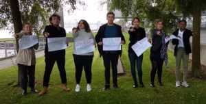 """Sønderborg meeting – 25th and 26th of September 2019 – Young people are here, yelling """"We need you !"""""""